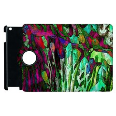 Bright Tropical Background Abstract Background That Has The Shape And Colors Of The Tropics Apple Ipad 2 Flip 360 Case