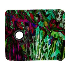 Bright Tropical Background Abstract Background That Has The Shape And Colors Of The Tropics Galaxy S3 (flip/folio)