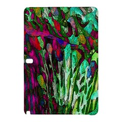 Bright Tropical Background Abstract Background That Has The Shape And Colors Of The Tropics Samsung Galaxy Tab Pro 10.1 Hardshell Case by Nexatart