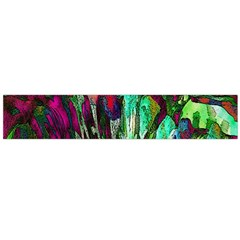 Bright Tropical Background Abstract Background That Has The Shape And Colors Of The Tropics Flano Scarf (large)