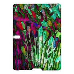Bright Tropical Background Abstract Background That Has The Shape And Colors Of The Tropics Samsung Galaxy Tab S (10 5 ) Hardshell Case  by Nexatart