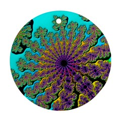 Beautiful Mandala Created With Fractal Forge Ornament (round) by Nexatart