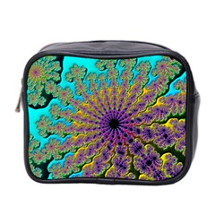Beautiful Mandala Created With Fractal Forge Mini Toiletries Bag 2 Side by Nexatart