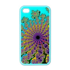 Beautiful Mandala Created With Fractal Forge Apple Iphone 4 Case (color)