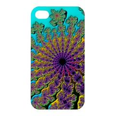 Beautiful Mandala Created With Fractal Forge Apple Iphone 4/4s Hardshell Case by Nexatart
