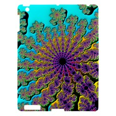 Beautiful Mandala Created With Fractal Forge Apple Ipad 3/4 Hardshell Case