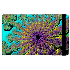 Beautiful Mandala Created With Fractal Forge Apple Ipad 3/4 Flip Case