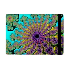Beautiful Mandala Created With Fractal Forge Apple Ipad Mini Flip Case