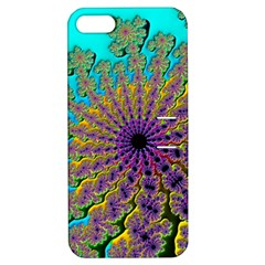 Beautiful Mandala Created With Fractal Forge Apple Iphone 5 Hardshell Case With Stand by Nexatart