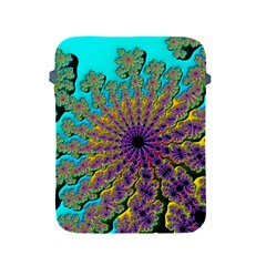 Beautiful Mandala Created With Fractal Forge Apple Ipad 2/3/4 Protective Soft Cases by Nexatart