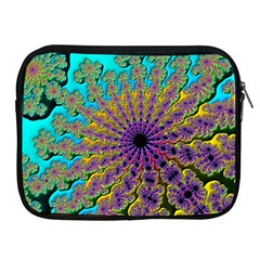 Beautiful Mandala Created With Fractal Forge Apple Ipad 2/3/4 Zipper Cases