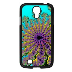 Beautiful Mandala Created With Fractal Forge Samsung Galaxy S4 I9500/ I9505 Case (black) by Nexatart