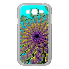 Beautiful Mandala Created With Fractal Forge Samsung Galaxy Grand Duos I9082 Case (white) by Nexatart