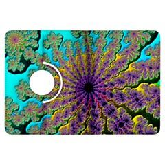 Beautiful Mandala Created With Fractal Forge Kindle Fire Hdx Flip 360 Case by Nexatart