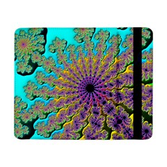 Beautiful Mandala Created With Fractal Forge Samsung Galaxy Tab Pro 8 4  Flip Case by Nexatart