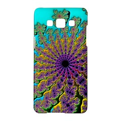Beautiful Mandala Created With Fractal Forge Samsung Galaxy A5 Hardshell Case  by Nexatart