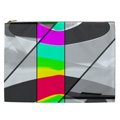 Colors Fadeout Paintwork Abstract Cosmetic Bag (xxl)  by Nexatart