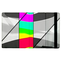 Colors Fadeout Paintwork Abstract Apple Ipad 2 Flip Case