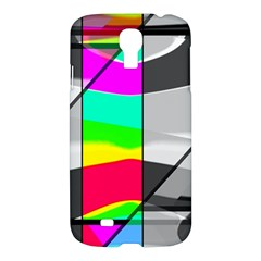 Colors Fadeout Paintwork Abstract Samsung Galaxy S4 I9500/i9505 Hardshell Case by Nexatart