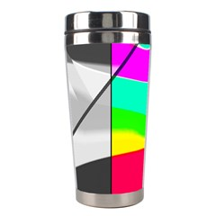 Colors Fadeout Paintwork Abstract Stainless Steel Travel Tumblers by Nexatart