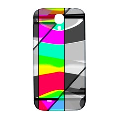 Colors Fadeout Paintwork Abstract Samsung Galaxy S4 I9500/i9505  Hardshell Back Case