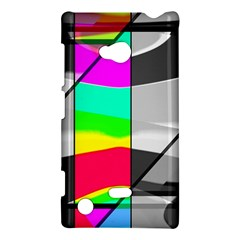 Colors Fadeout Paintwork Abstract Nokia Lumia 720 by Nexatart