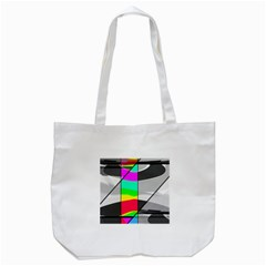 Colors Fadeout Paintwork Abstract Tote Bag (white) by Nexatart