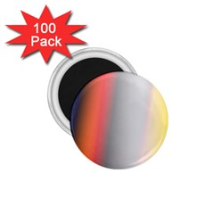 Digitally Created Abstract Colour Blur Background 1 75  Magnets (100 Pack)
