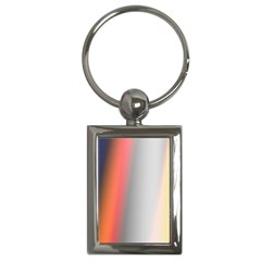 Digitally Created Abstract Colour Blur Background Key Chains (rectangle)