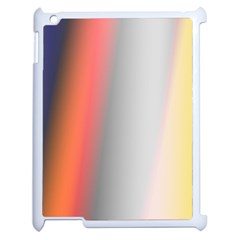 Digitally Created Abstract Colour Blur Background Apple Ipad 2 Case (white) by Nexatart