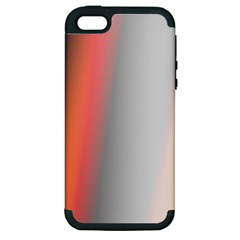 Digitally Created Abstract Colour Blur Background Apple Iphone 5 Hardshell Case (pc+silicone)