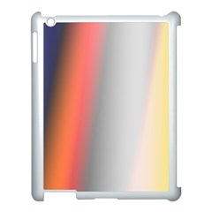 Digitally Created Abstract Colour Blur Background Apple Ipad 3/4 Case (white)