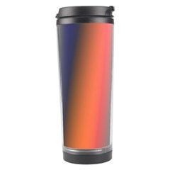 Digitally Created Abstract Colour Blur Background Travel Tumbler by Nexatart