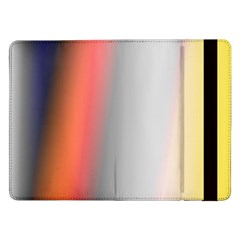 Digitally Created Abstract Colour Blur Background Samsung Galaxy Tab Pro 12 2  Flip Case