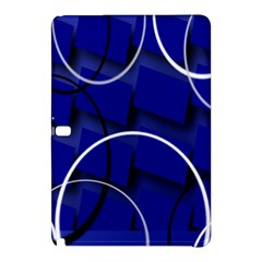 Blue Abstract Pattern Rings Abstract Samsung Galaxy Tab Pro 10 1 Hardshell Case