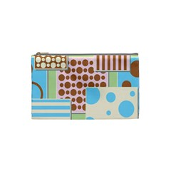 Part Background Image Cosmetic Bag (small)  by Nexatart