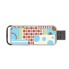 Part Background Image Portable Usb Flash (one Side)