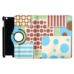 Part Background Image Apple Ipad 2 Flip 360 Case by Nexatart