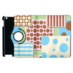 Part Background Image Apple Ipad 3/4 Flip 360 Case