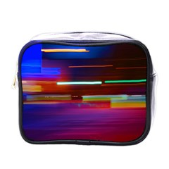 Abstract Background Pictures Mini Toiletries Bags
