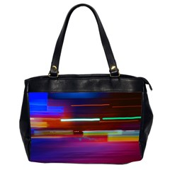 Abstract Background Pictures Office Handbags (2 Sides)