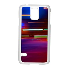 Abstract Background Pictures Samsung Galaxy S5 Case (white)
