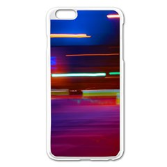 Abstract Background Pictures Apple Iphone 6 Plus/6s Plus Enamel White Case