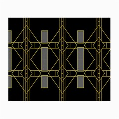 Simple Art Deco Style Art Pattern Small Glasses Cloth (2 Side)