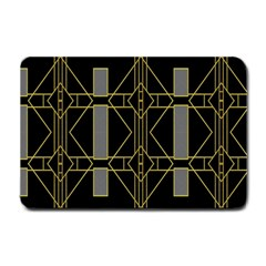 Simple Art Deco Style Art Pattern Small Doormat  by Nexatart
