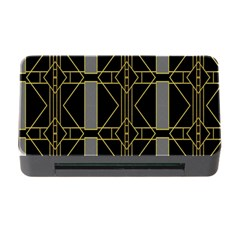 Simple Art Deco Style Art Pattern Memory Card Reader With Cf by Nexatart