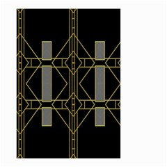 Simple Art Deco Style Art Pattern Small Garden Flag (two Sides)