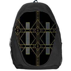 Simple Art Deco Style Art Pattern Backpack Bag by Nexatart