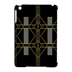 Simple Art Deco Style Art Pattern Apple Ipad Mini Hardshell Case (compatible With Smart Cover) by Nexatart