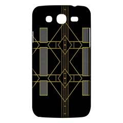 Simple Art Deco Style Art Pattern Samsung Galaxy Mega 5 8 I9152 Hardshell Case  by Nexatart